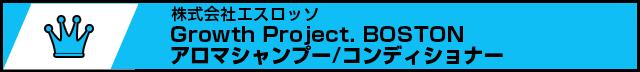 NO.10 Growth Project. BOSTONアロマシャンプー/コンディショナー